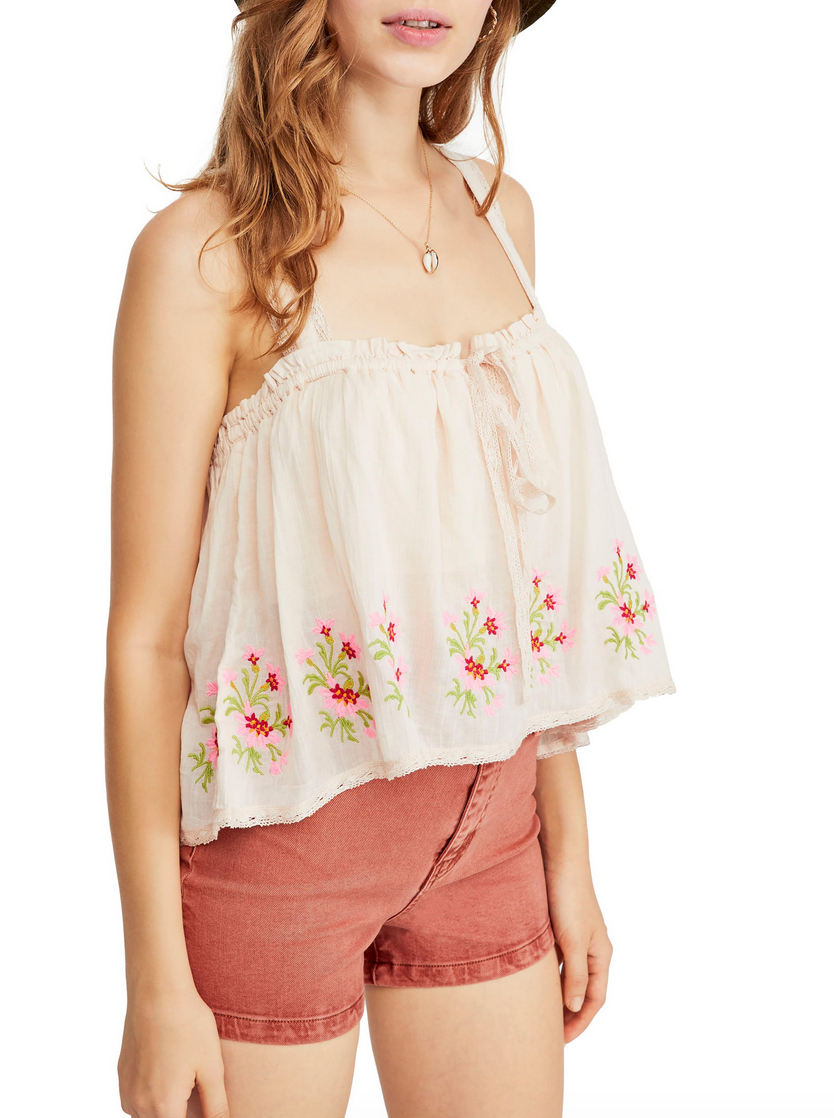 $46 - LOVE this with ripped jeans, white jeans for a more neutral look, or jean shorts.