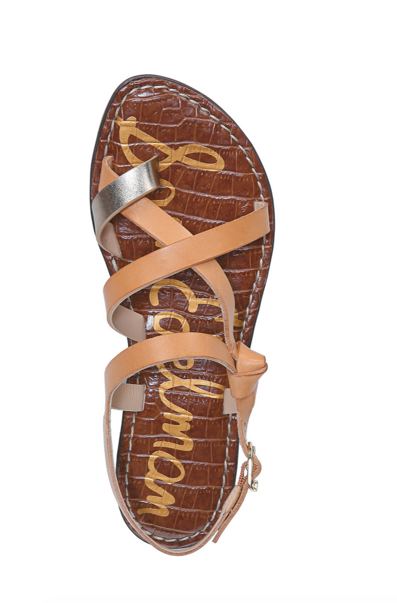 $60 - Sam Edelman sandals are always my first choice. So easy and go with anything! Comes in 3 other colors.