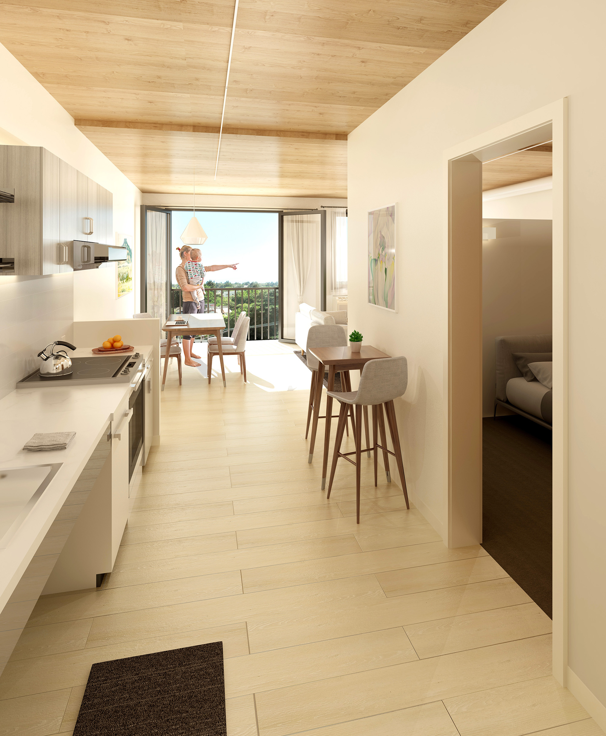 The Canyons encourages  inter-generational living  as part of an active, urban lifestyle.