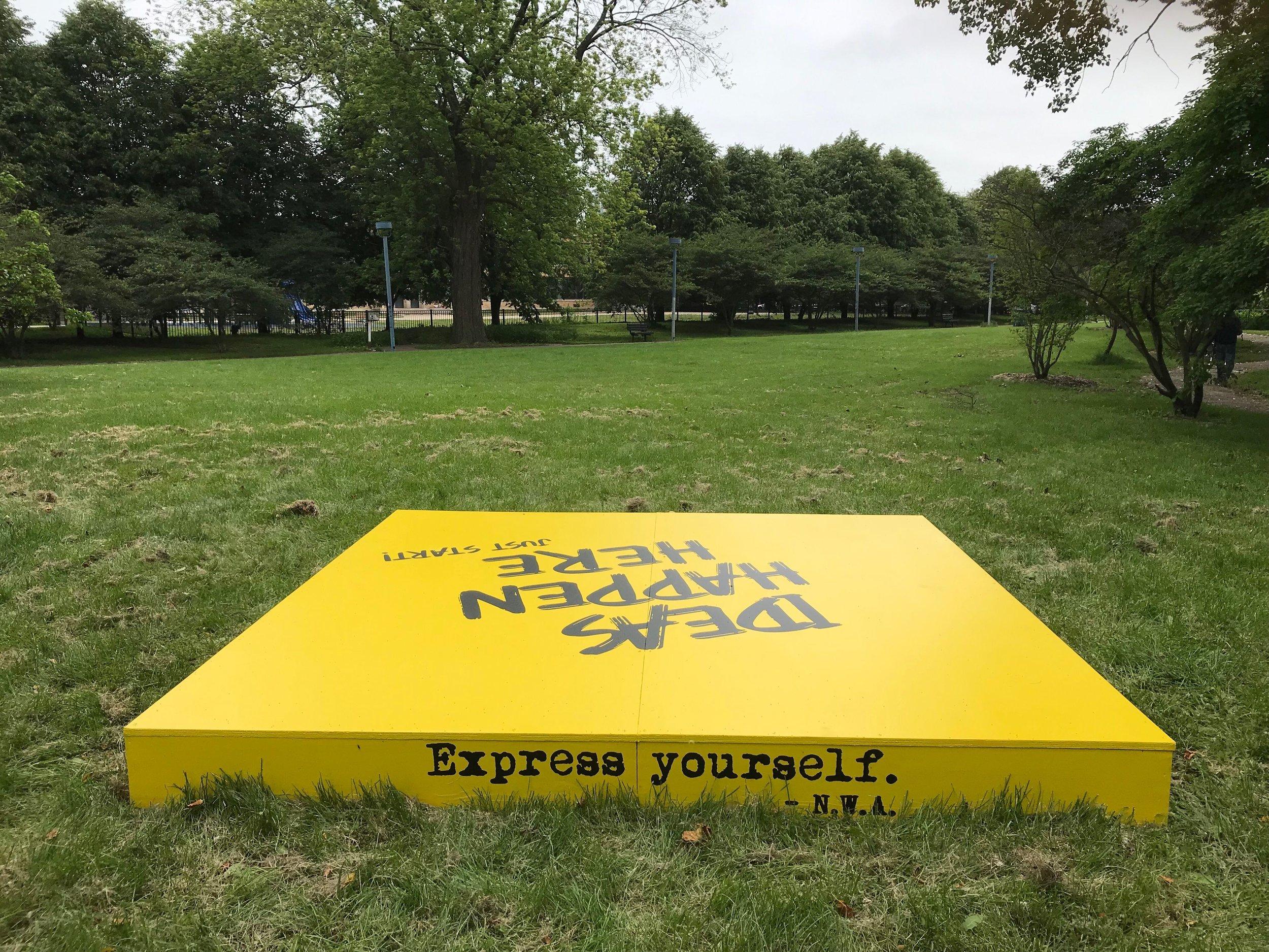 Nichols Park: (1404 E. 53rd St., Chicago, IL 60615)