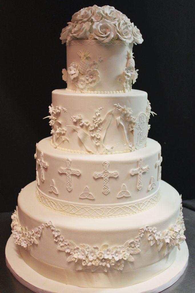 Classic Celtic Wedding Cake
