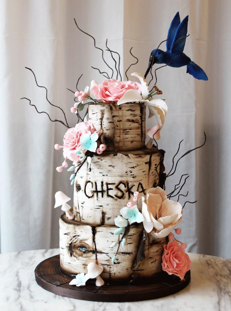 Birch & Hummingbird Cake