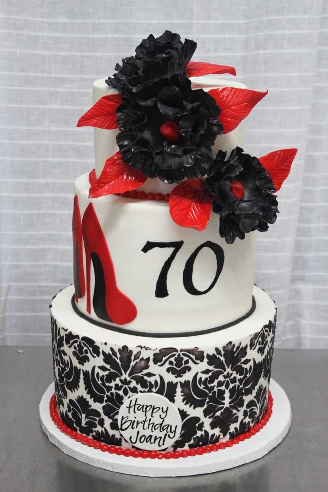 Fabulous 70th Cake
