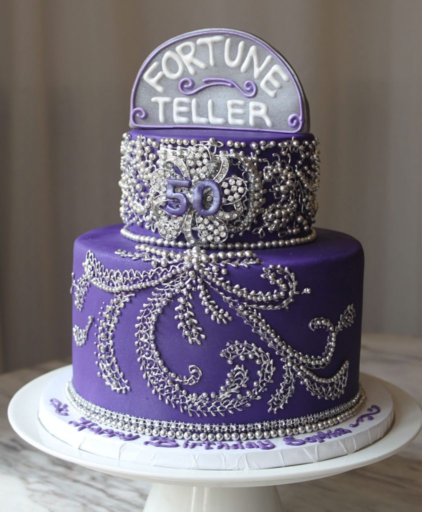 Fortune Teller Cake