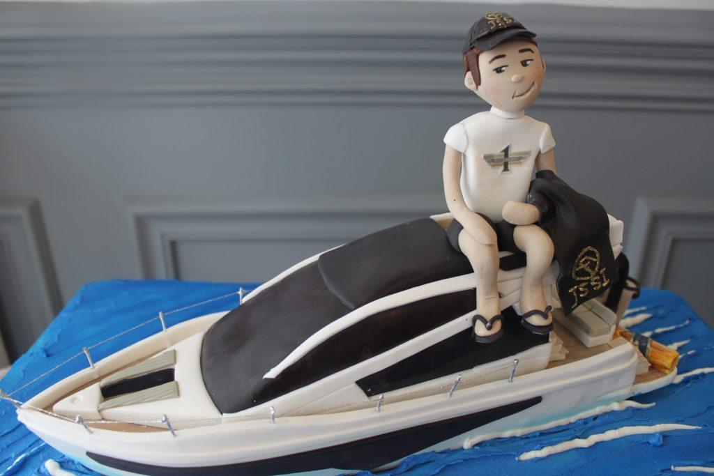 Birthday Boat Cake