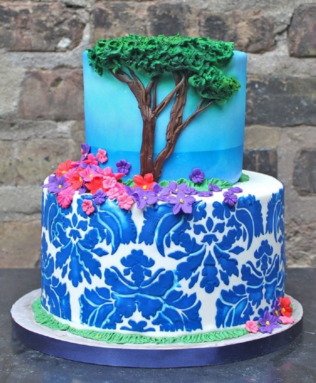 Printed Landscape Cake