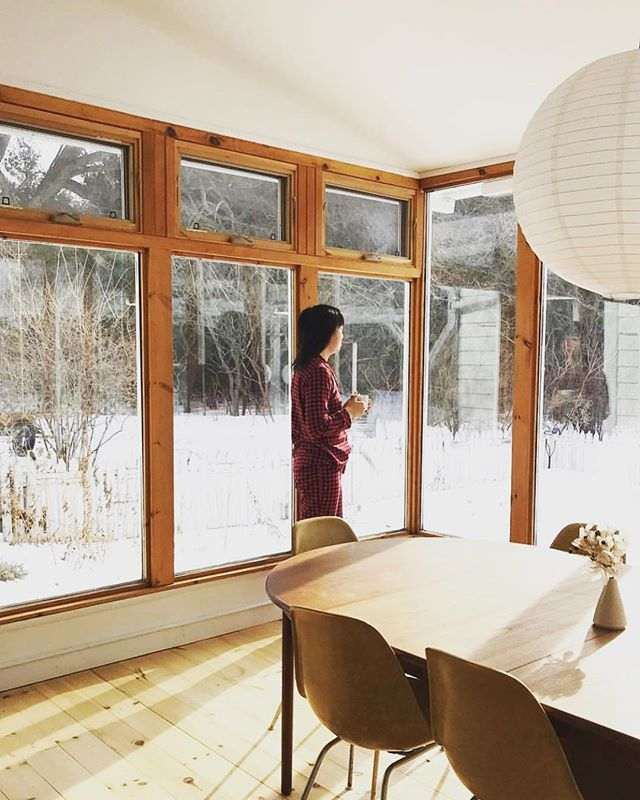 Yet another sleepy, dreamy, quiet winter's morning at The Wilk!! We love seeing our guests enjoying our space!! Keep 'em coming and thanks so much @healthandswellness for all the rad shots you've posted! ❤️