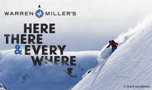 Warren Miller Here there and everywhere promo.