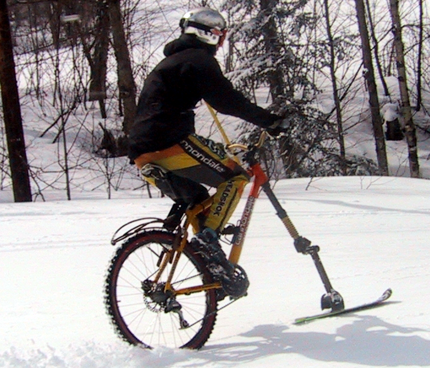 One of the original Fat Bike Skis in the mid-2000's