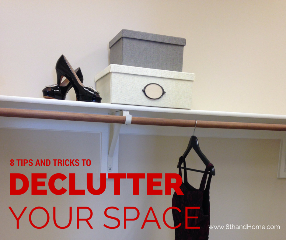 purging and declutter tricks 8th and home