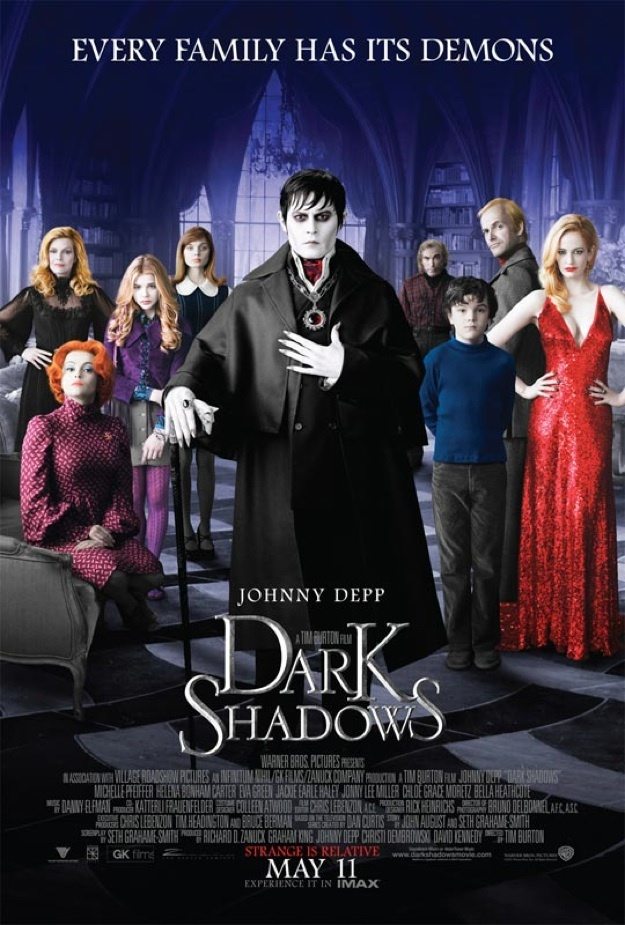 Tim Burtons Dark Shadows- Creature fx for film