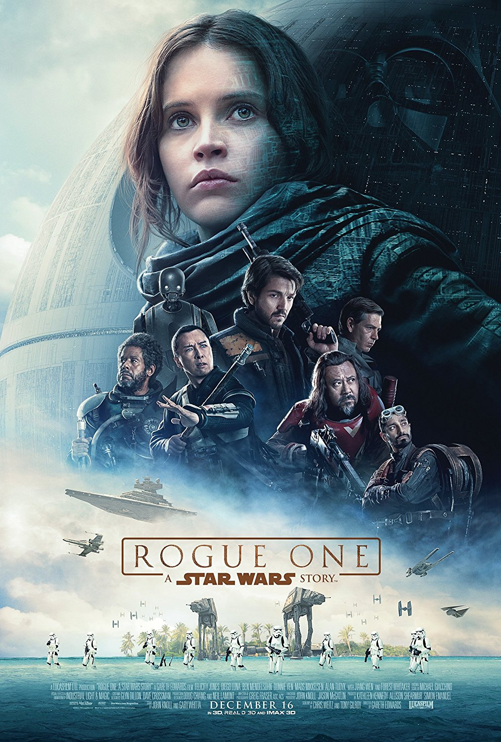 Rogue one, A Star Wars Story. Creature costume makers