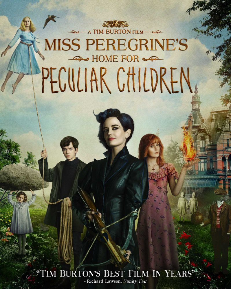 Miss Peregrines home for Peculiar Children- Creature fx