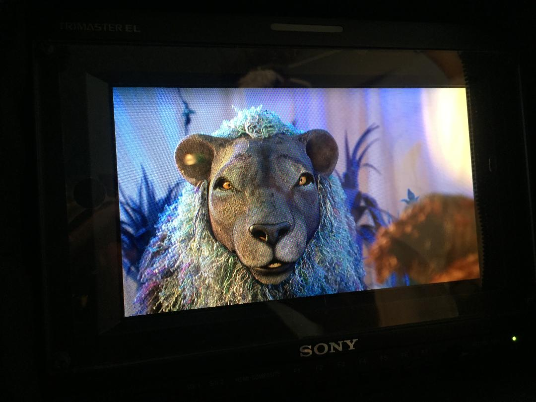 lion puppet- Puppet makers for Television