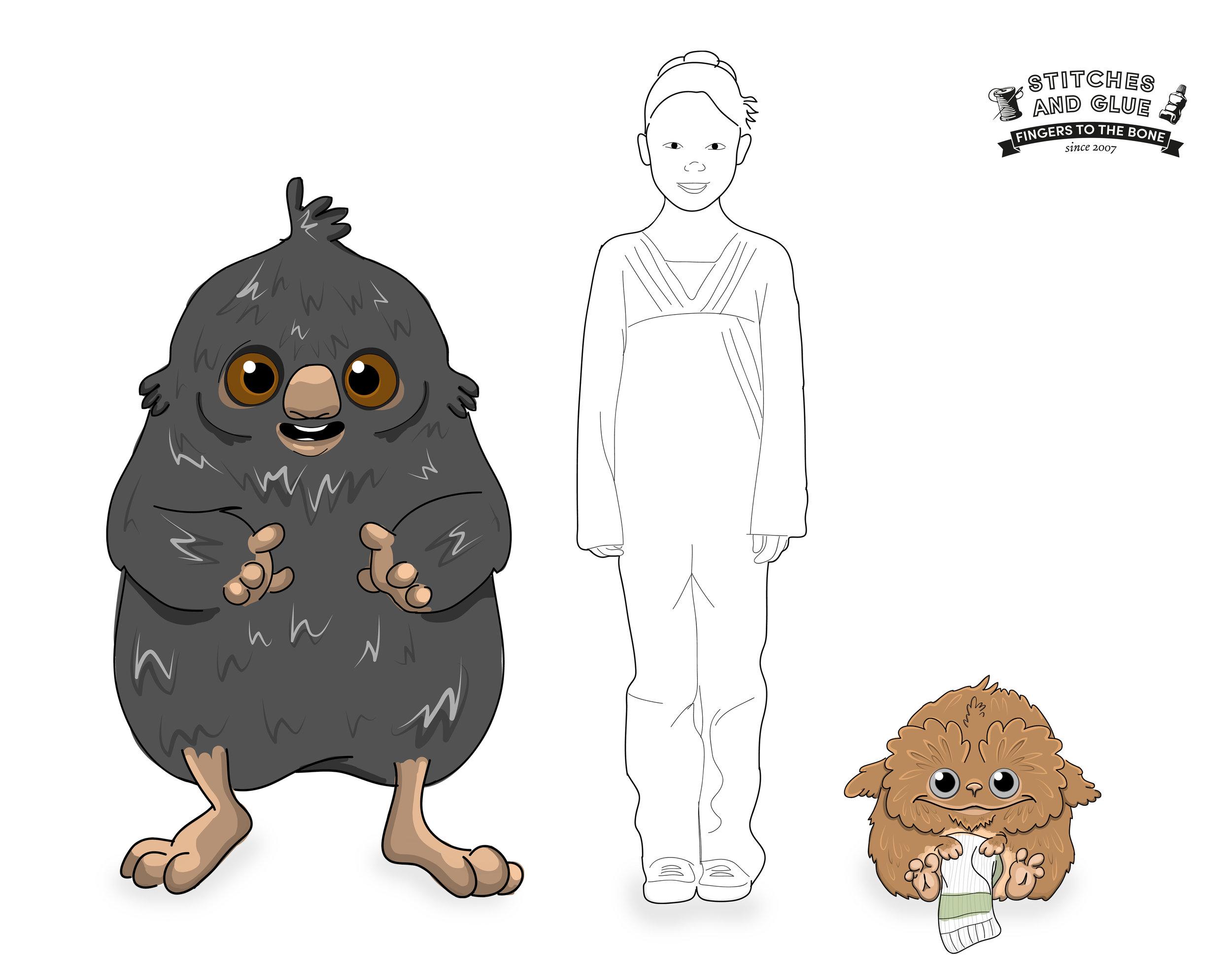 character design- Puppet designers