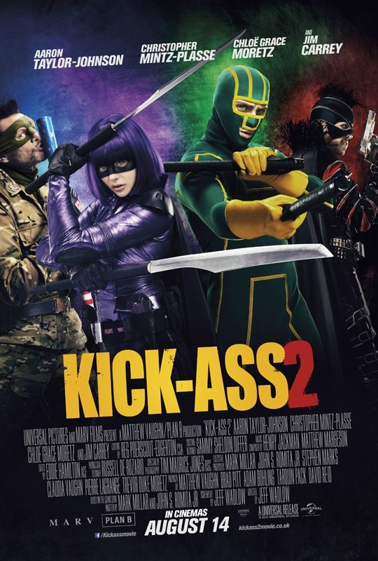 Kick-Ass 2- mask makers for film