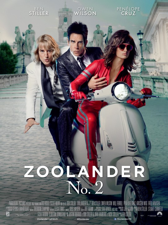 Zoolander 2- Creature fx, special fx