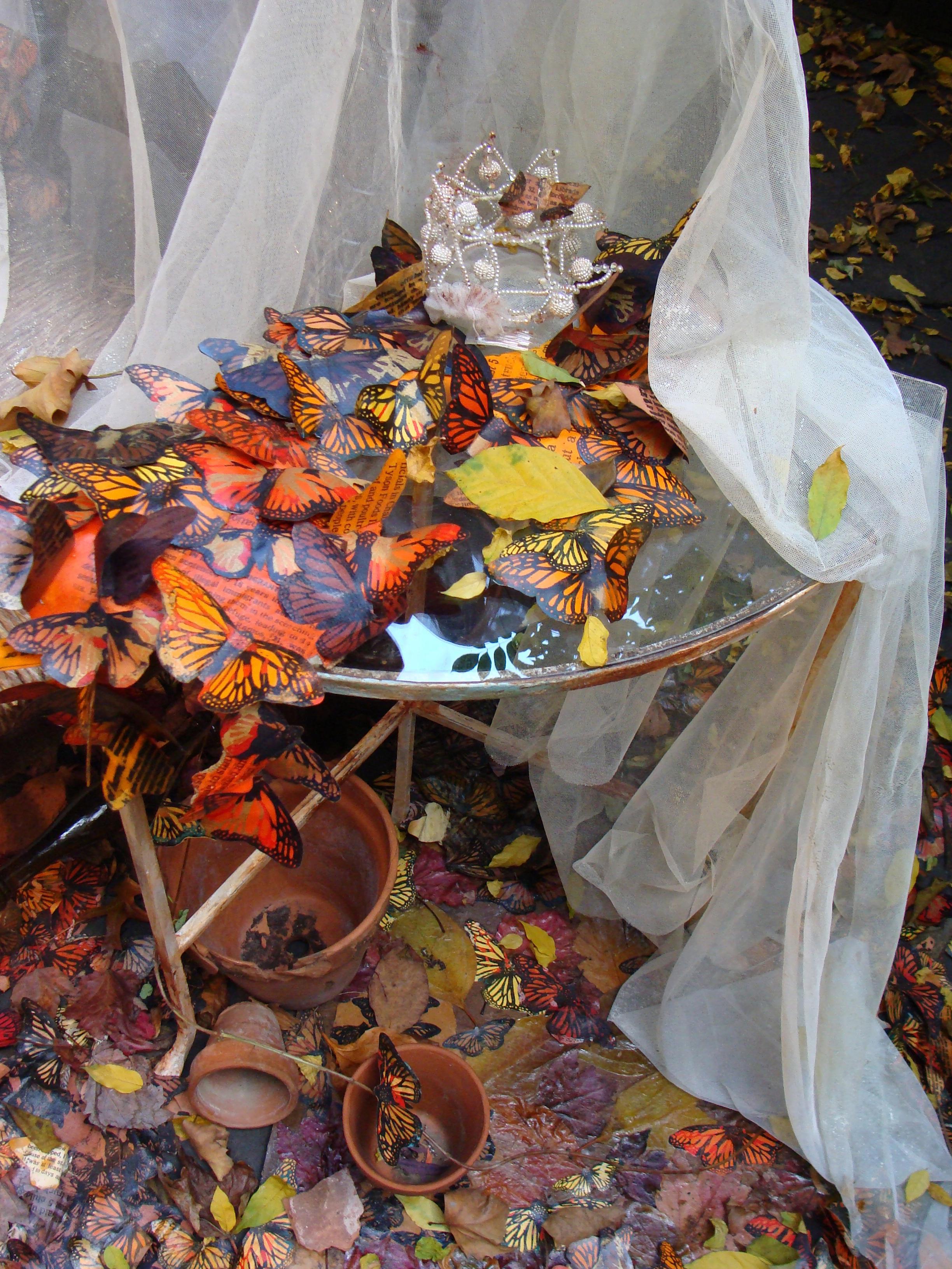 "#1 Anne Dushanko Dobek, ""Promises,Promises""  partial day-fall view -table-tiara1094.jpg"