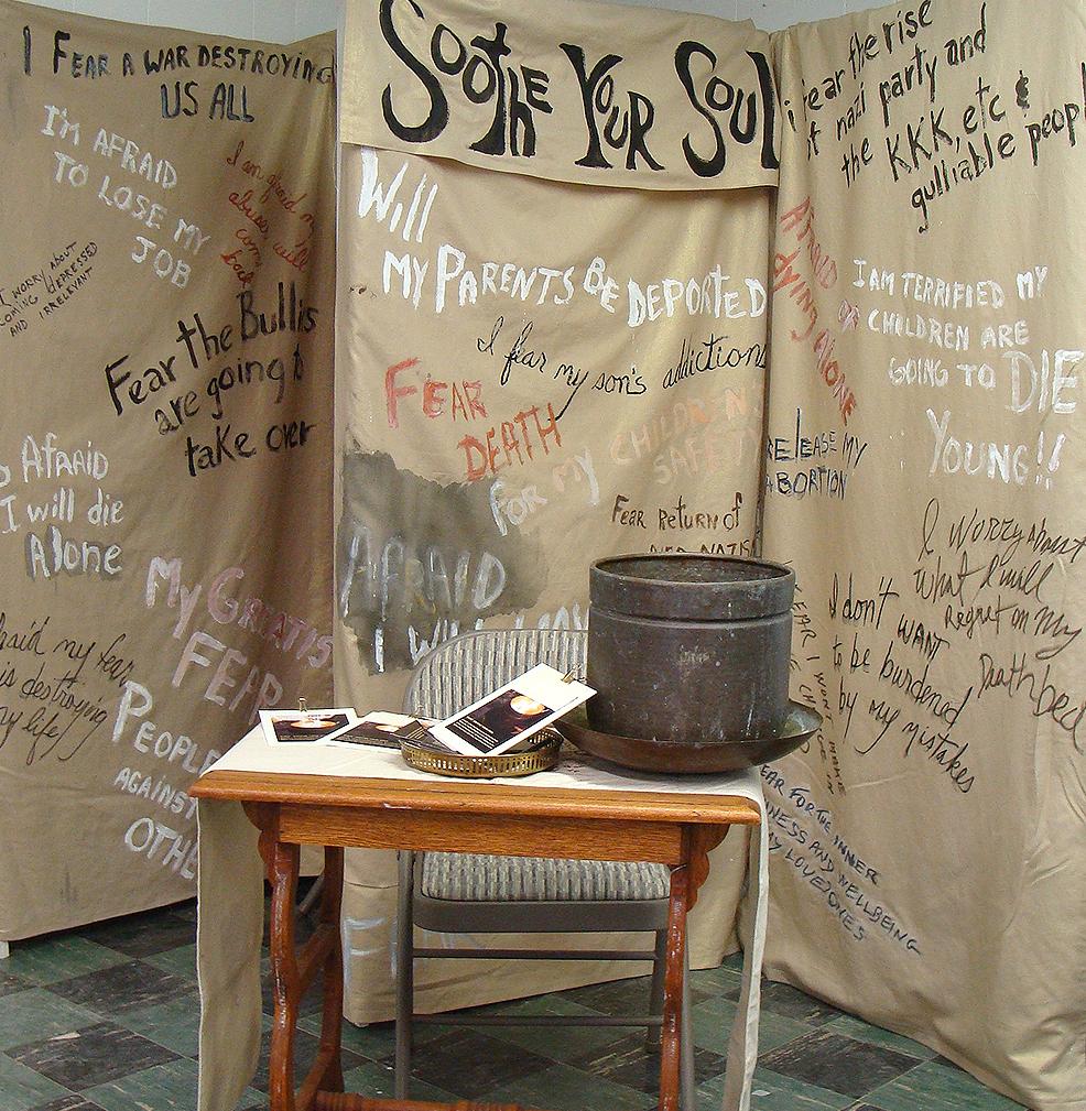#8A dushanko dobek,Soothe Your Soul participatory performance installation, 6'x12x3' ,  POR2.jpg