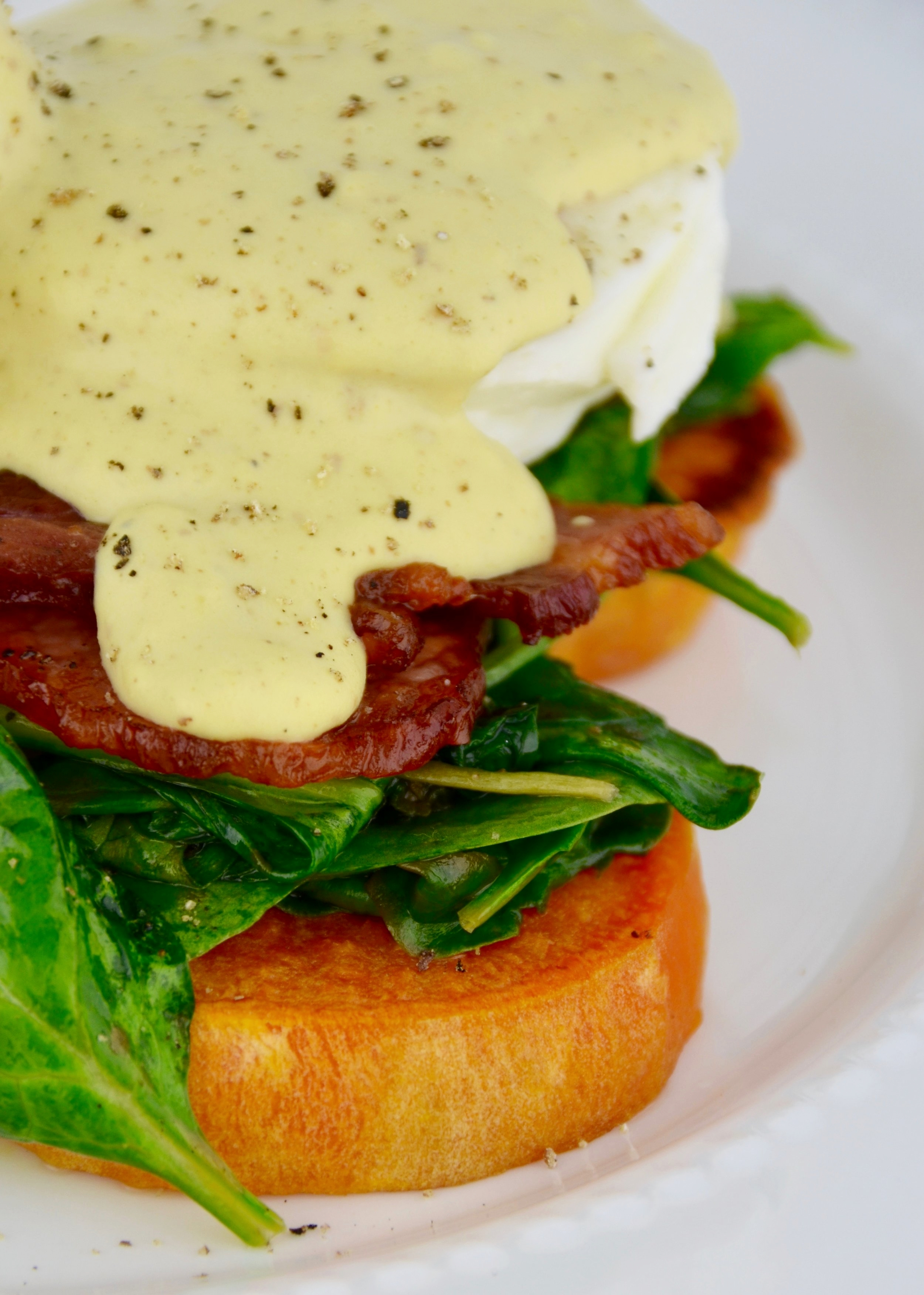 - I have a small threshold for digesting dairy products. I do, however, love creamy delicious foods. I am always looking for healthy, digestible alternatives so that is why I created this cashew hollandaise.