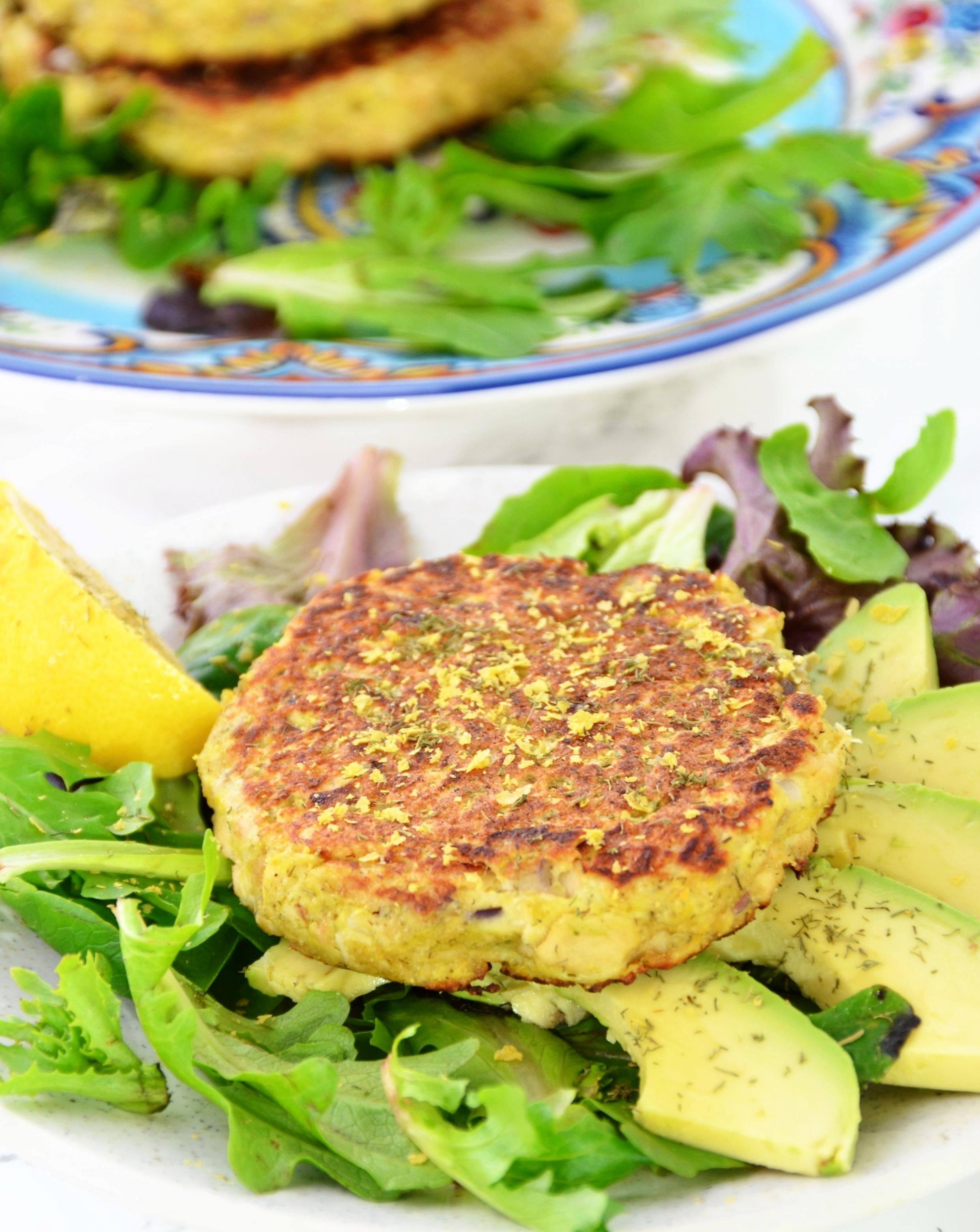 Gluten-Free, Dairy-Free Salmon Cakes