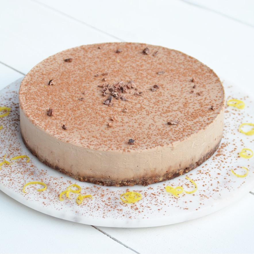 Banana Chocolate Cheesecake