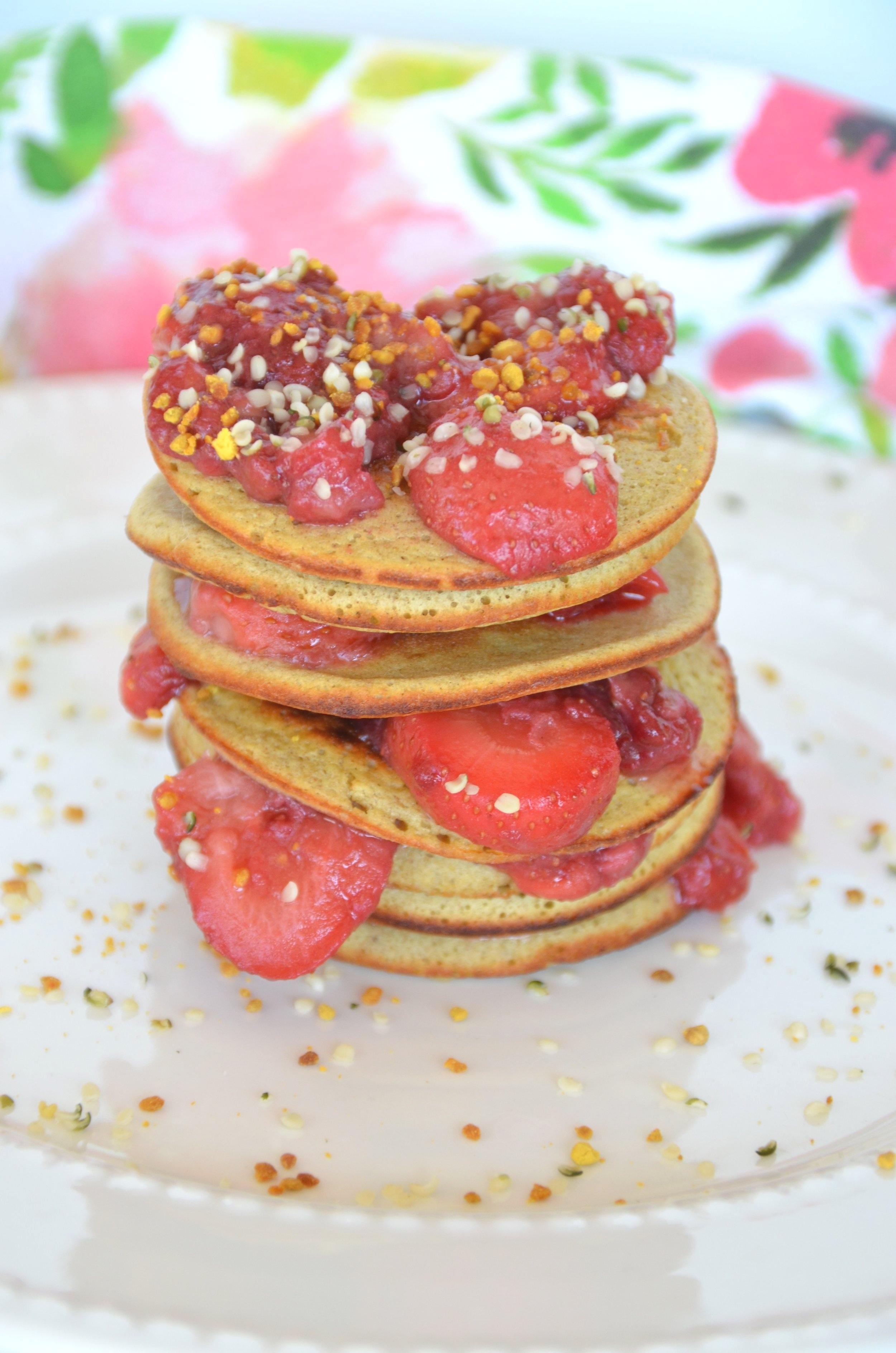 Banana+Oatmeal+Pancakes