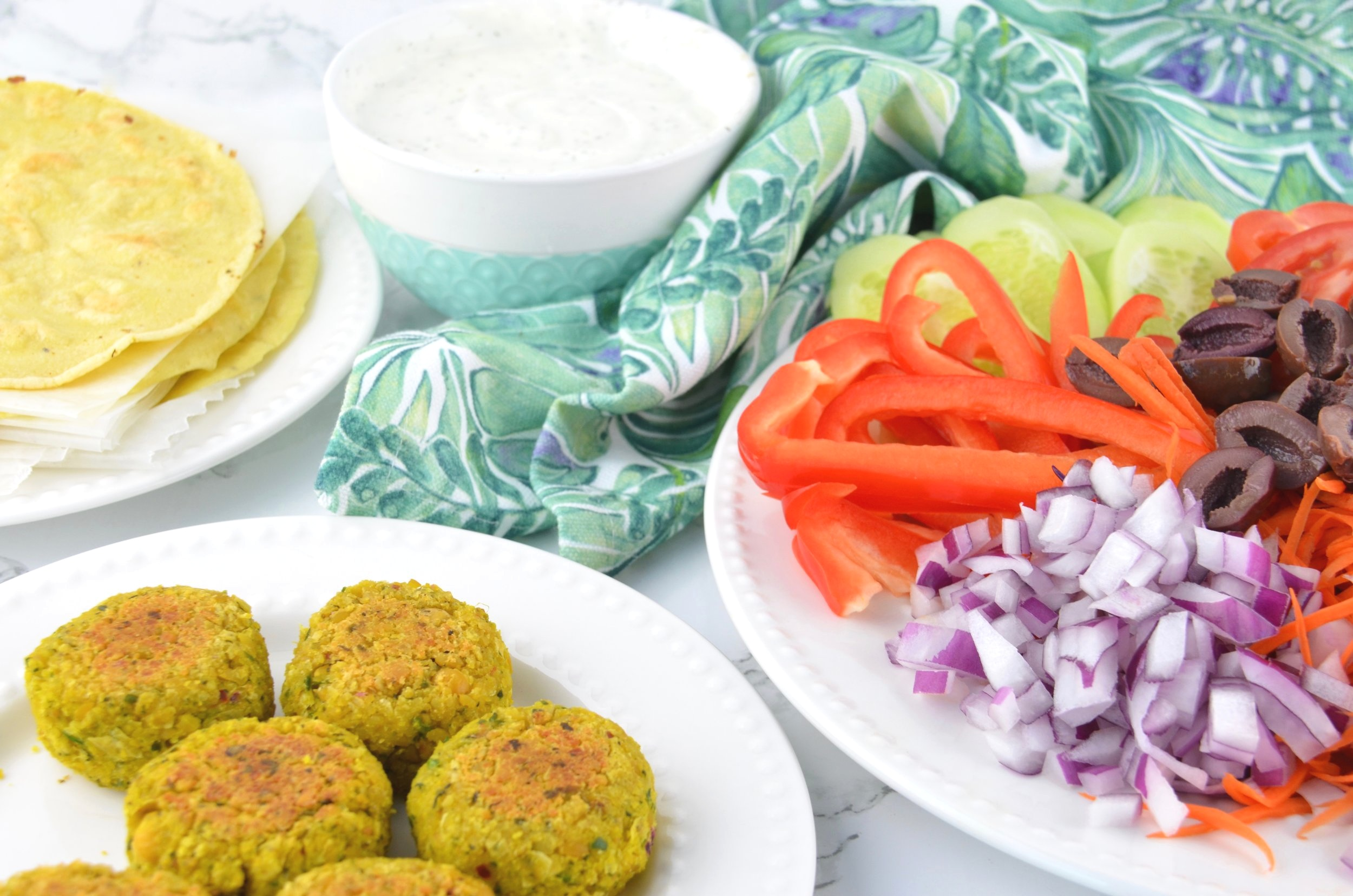 Click on the photo for this 2 Bite Falafel Recipe