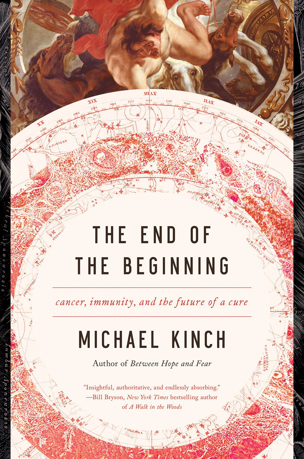 The End of the Beginning  is a remarkable history of cancer  treatment and the evolution of our understanding of its dynamic  interplay with the immune system. Through Michael Kinch's personal  experience as a cancer researcher at Washington University and the head  of the oncology program at a leading biotechnology company, we witness  the incredible accumulation of breakthrough science and its rapid  translation into life-saving technologies that have begun to  dramatically increase the quality and quantity of life for cancer  patients.