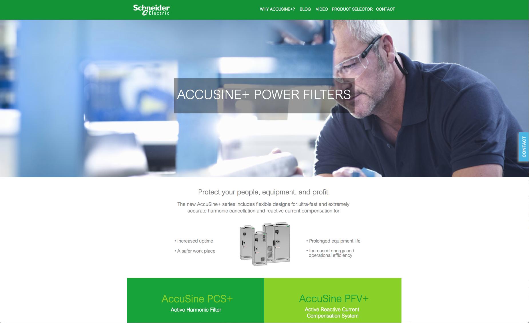 Accusine+ Power Filters -