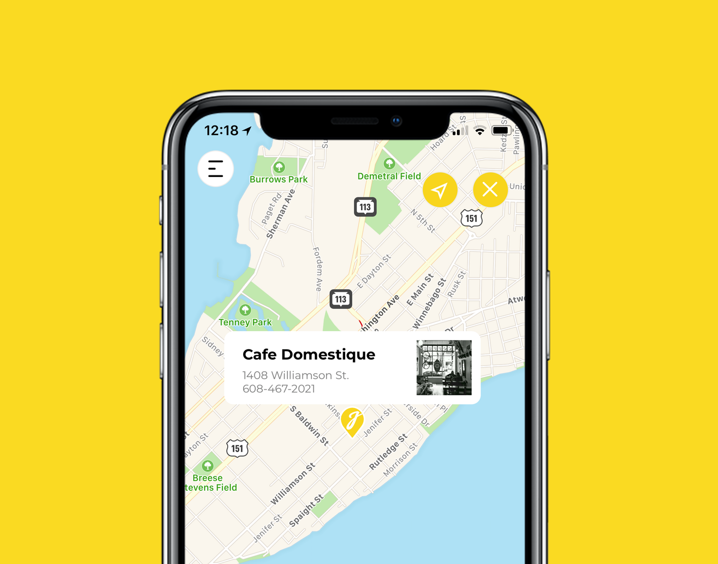 Caffeinate locally. - The map-view homepage highlights local coffee shops near your current location and throughout the area. Find your favorite or discover some place new.