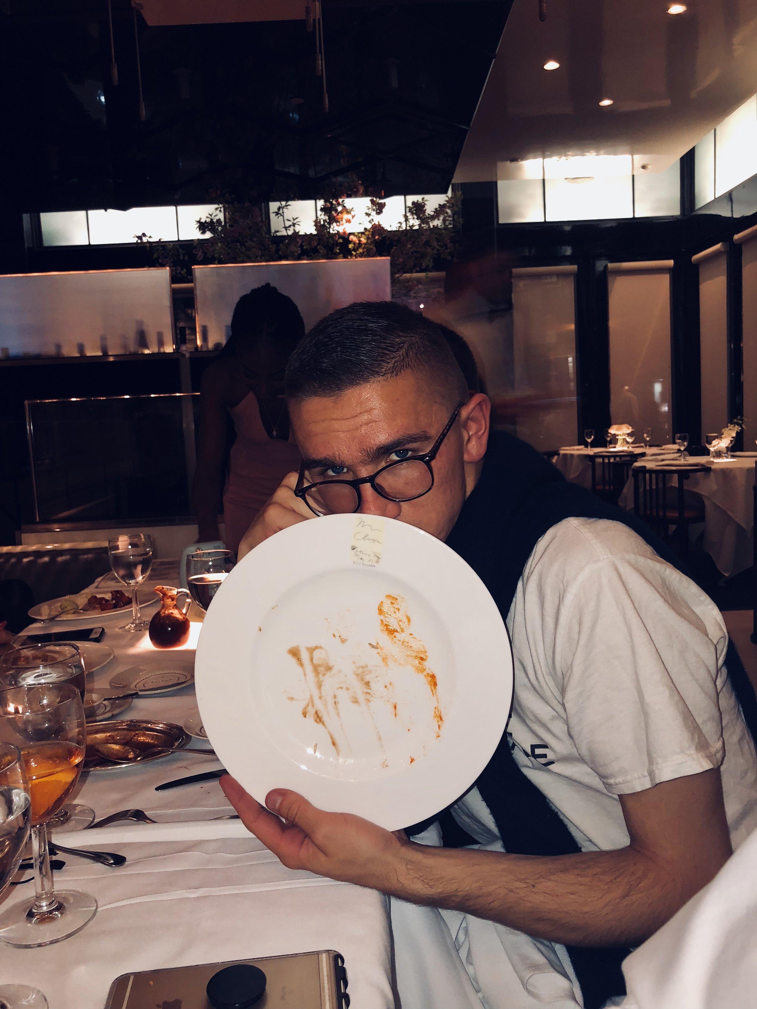 Clean plate  (2018)