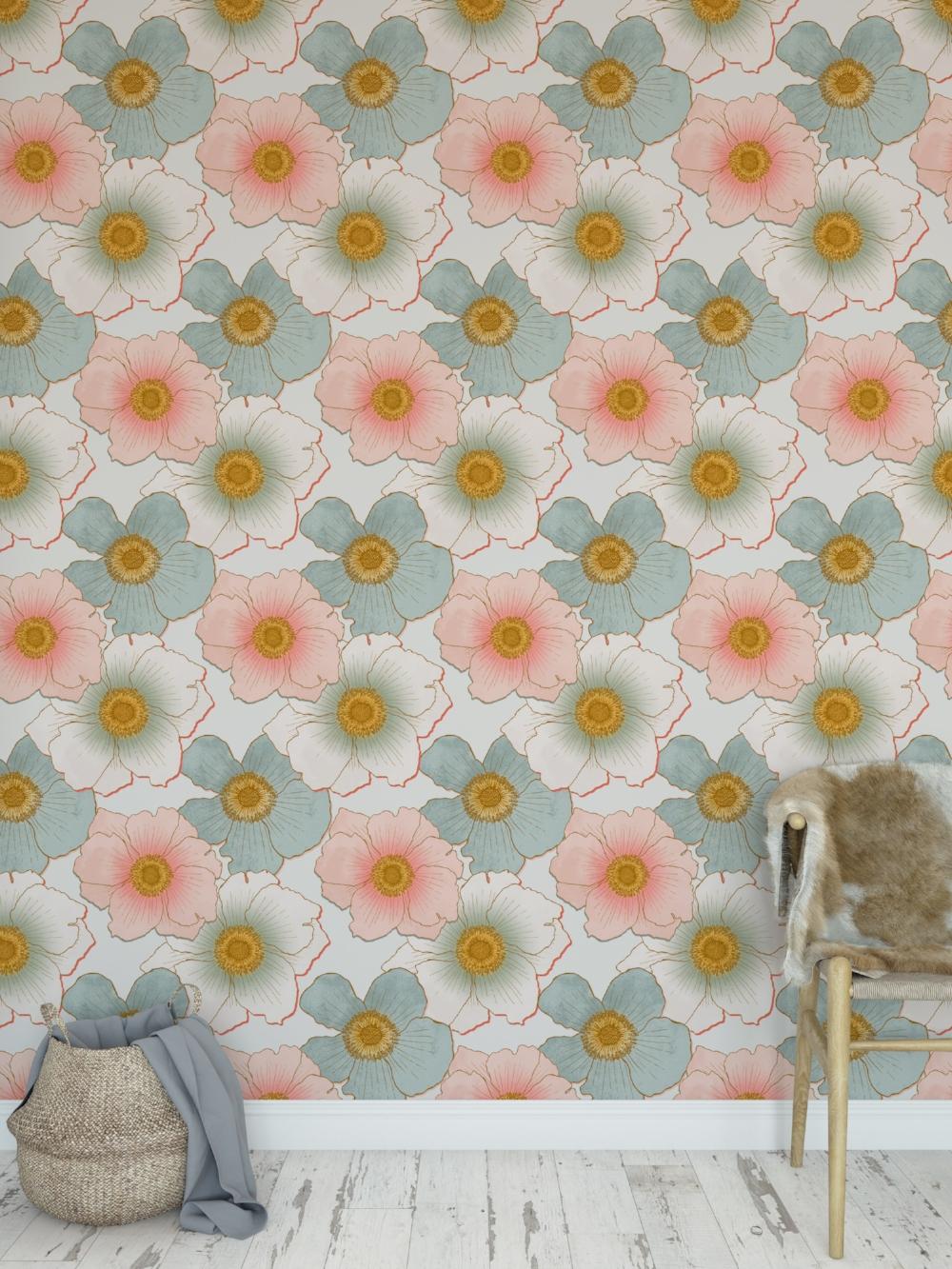 Japanese Anemones Wall_03.jpg