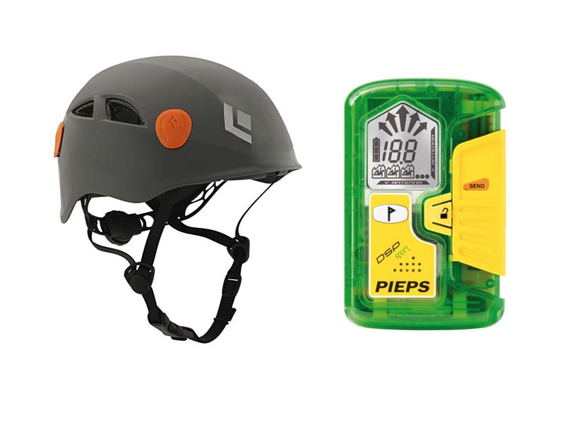 Black Diamond - Protect your head and protect your life with the Half Dome helmet and Pieps DSP Sport. Retail: $410