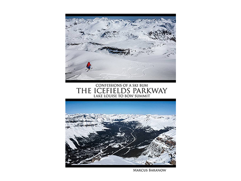 Confessions of a Ski Bum - The latest beta for ski runs along the Icefields Parkway - with beautiful imagery! Retail: $35