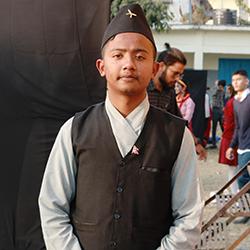 Ram Chandra Chapagai  Student Delegate  Jhapa, Nepal