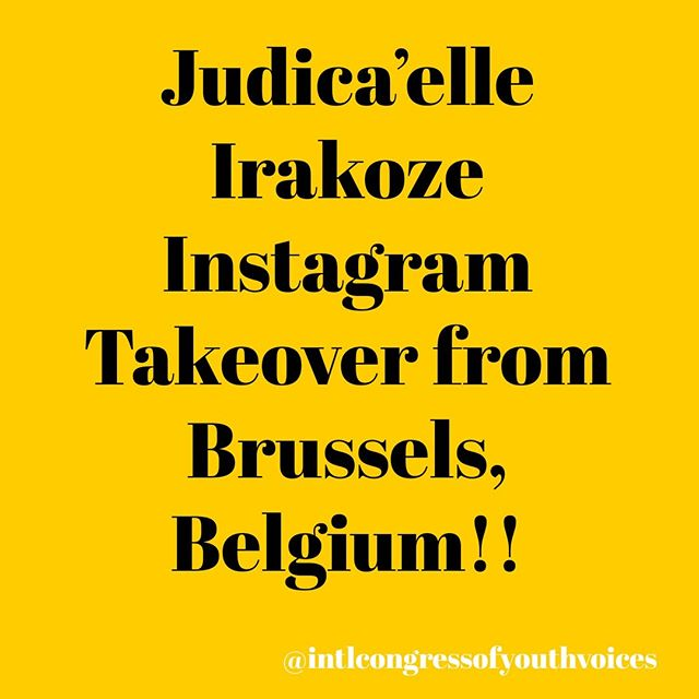 @j.u.d.i.c.a.e.l.l.e_, 2018 delegate and founder of Choose Yourself (@chooseyourself2), will be taking over our Instagram during her time at the European Development Days @europeaid in Brussels, Belgium! Join us in our stories.⠀ https://eudevdays.eu/⠀ #thinktwice
