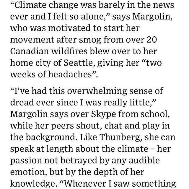 Coverage by Wired of 2019 delegate, Jamie Margolin's organization, @thisiszerohour. Check out their Youth Climate Summit and register now!!
