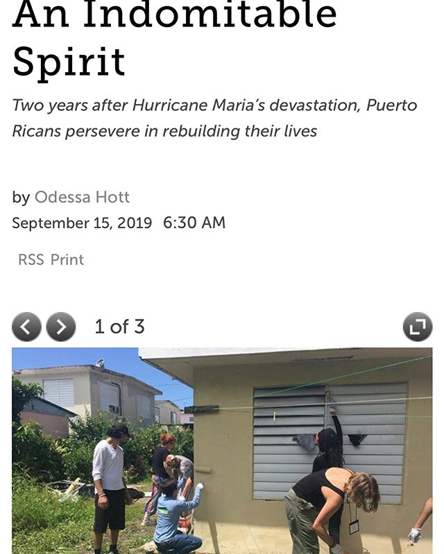 Odessa, a writer and student delegate from Richmond, Virginia, reflects on the resilient spirit of Puerto Rico in this article for @richmondmag  LINK IN BIO