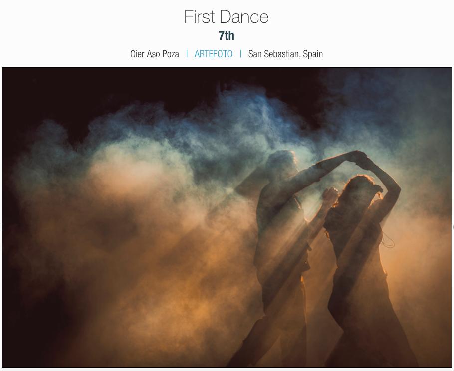 premio fotografo bodas san sebastian primer baile