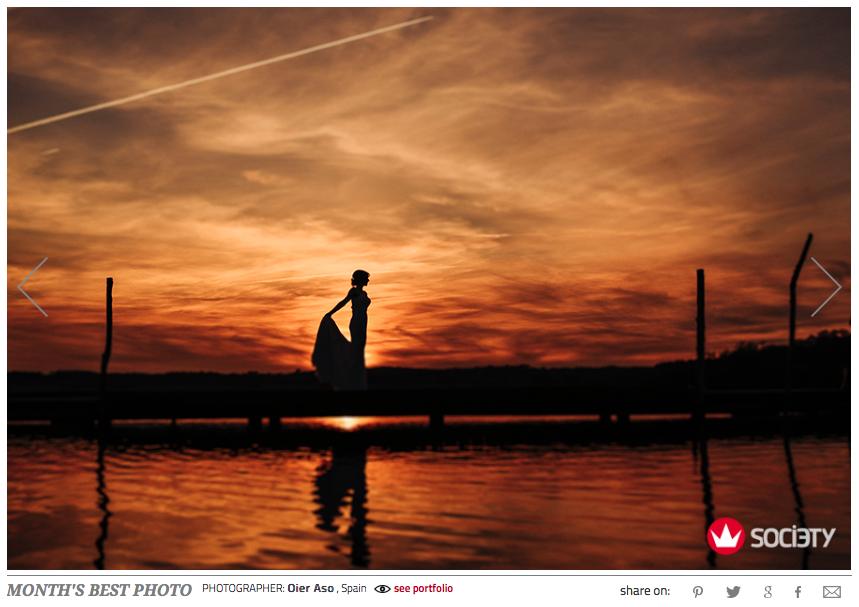 Fotógrafo de bodas sunset best photo award