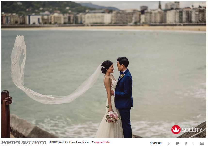 Best destination wedding photography spain san sebastian