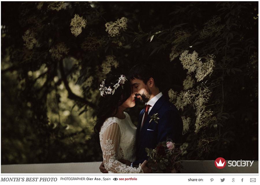 Premio fotografo de bodas
