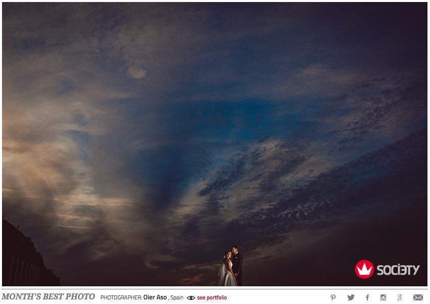 Wedding photographer society Awards - August 2016 Destination wedding photographer san sebastian gipuzkoa donosti fotógrafo de bodas fotografía de bodas