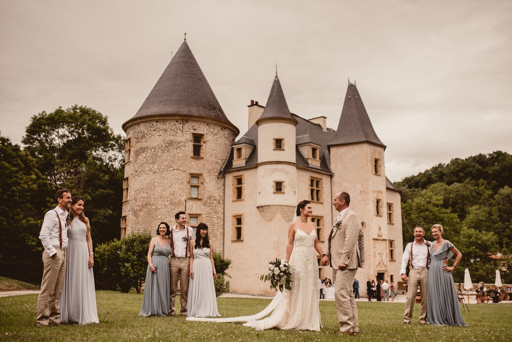 Ivonna & Jason - CHATEAU SAINT MARTORY - FRANCE