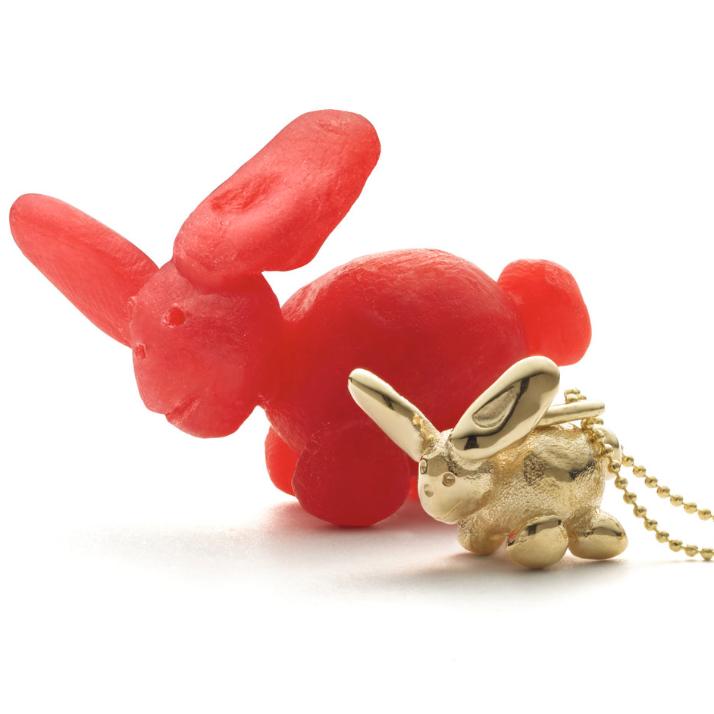 mini gold pendant