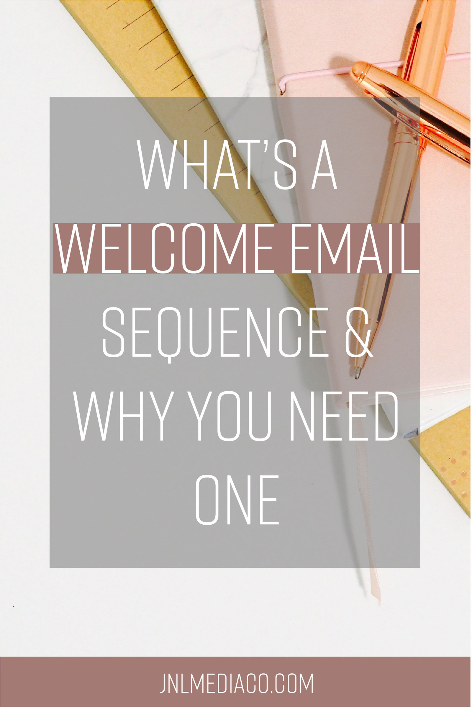 Why exactly should you have an welcome email sequence? Find out why you should jump on this asap and see an example of what I include in my welcome emails.