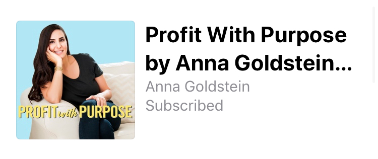 Profit With Purpose Podcast