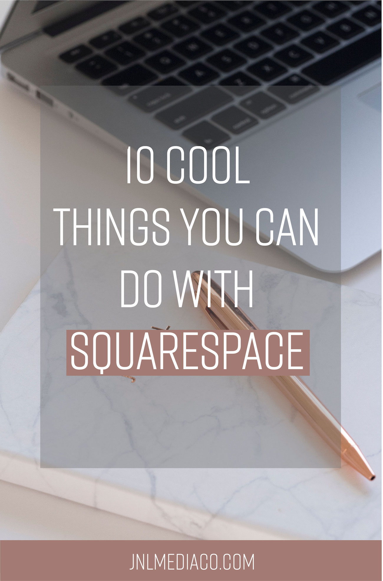 From booking client calls with Acuity to using the Archive button to display your blog categories. Find out 10 cool things you can do with Squarespace! #squarespacetips