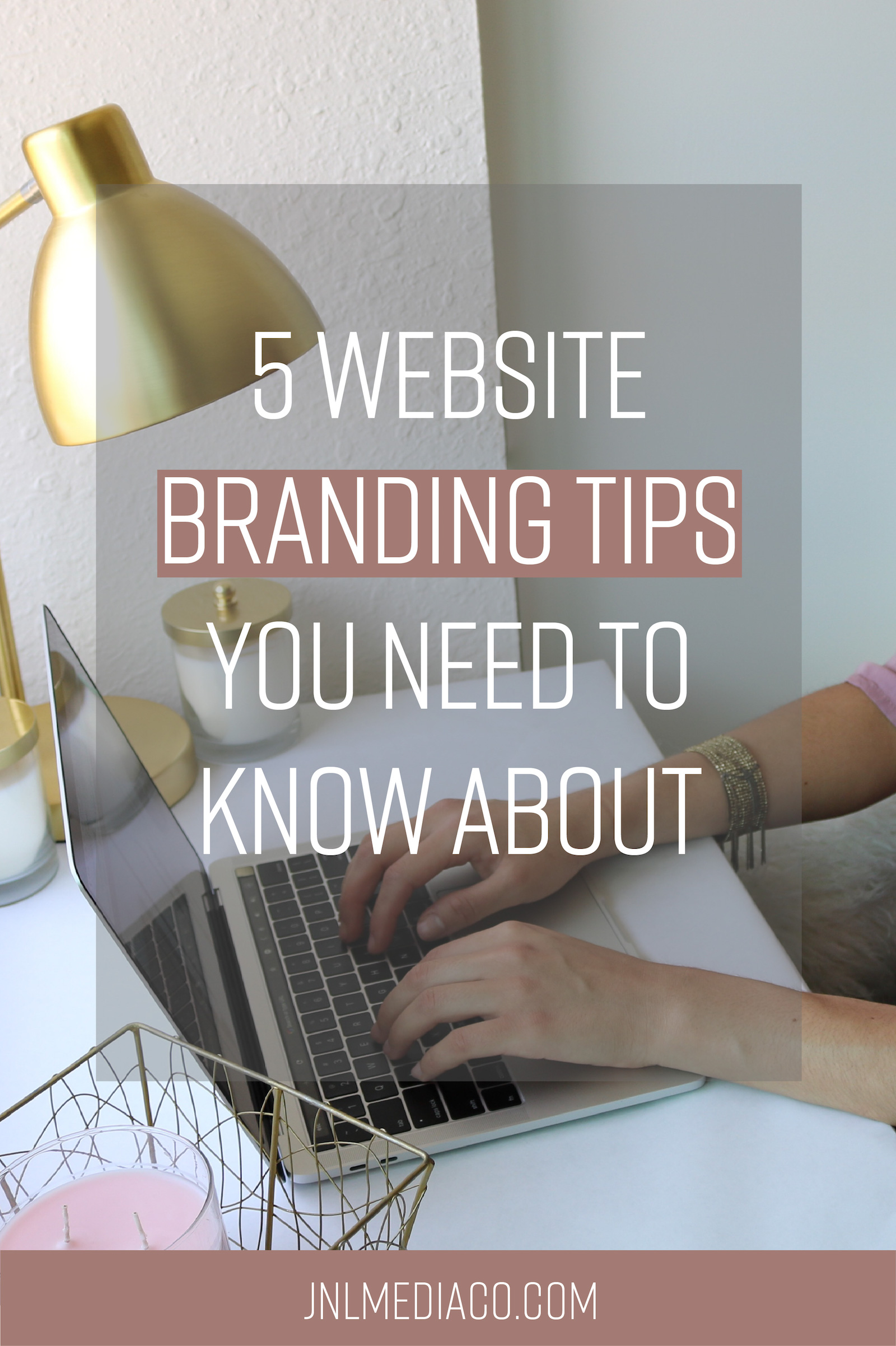 """You've heard the word branding and web design separately but what about """"Website Branding"""" ? Website Branding simply means that your website is on brand! So how do you go about creating your Website Branding Strategy?"""